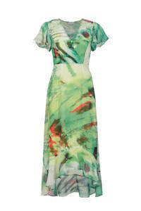 PROMISS maxi jurk met all over print wit, Wit