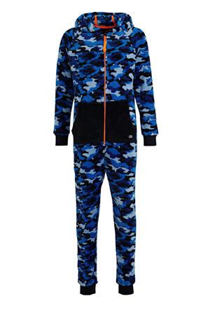 onesie blauw/zwart