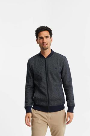 vest blue grey