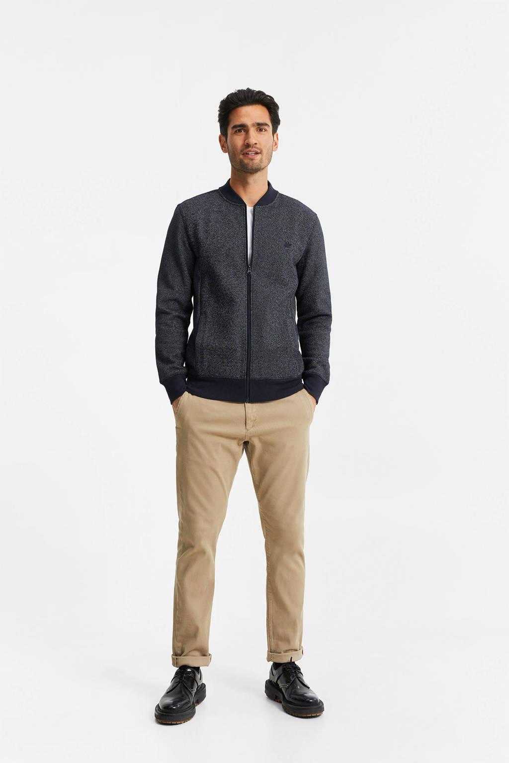 WE Fashion vest blue grey, Blue Grey
