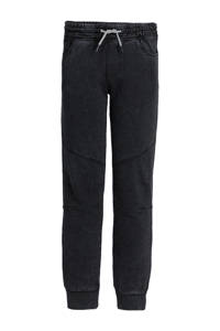 WE Fashion Salty Dog slim fit broek Salty Dog zwart, Zwart