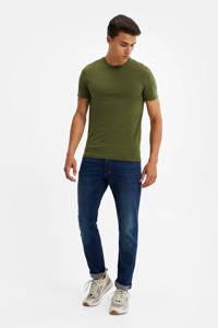 WE Fashion T-shirt olijfgroen, Olijfgroen