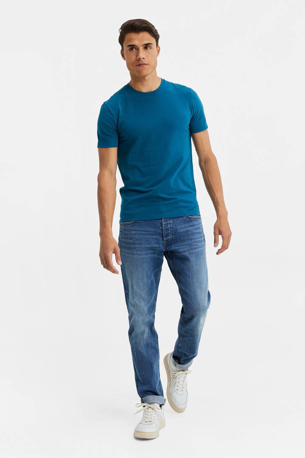 WE Fashion T-shirt blauw, Blauw