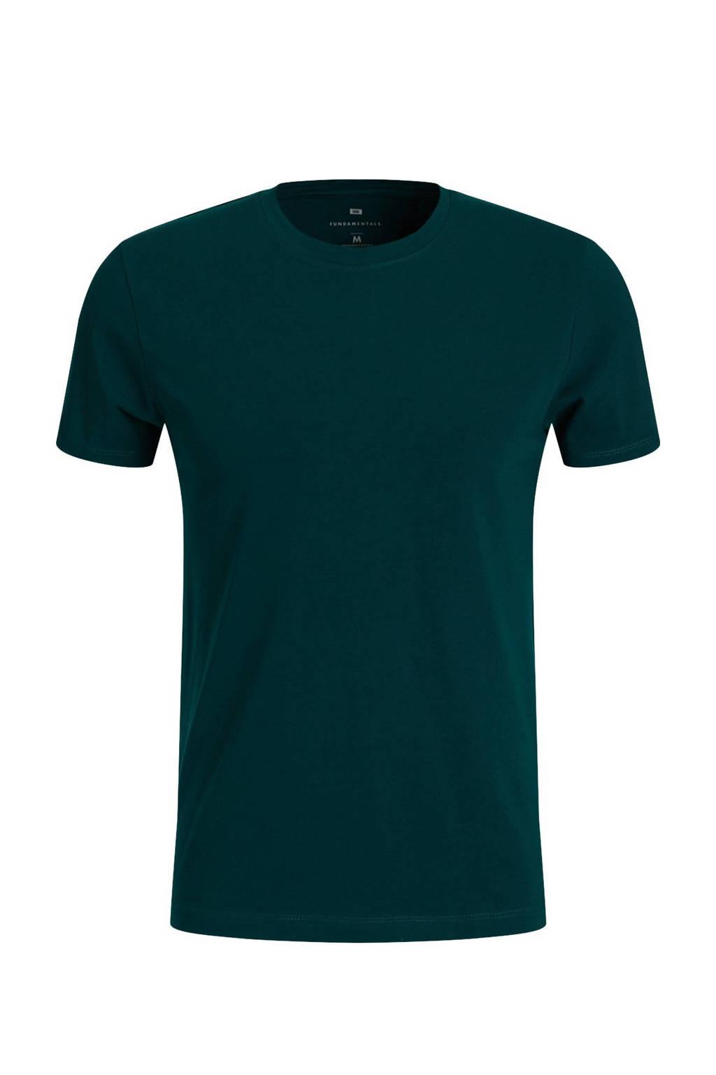 WE Fashion T-shirt petrol, Petrol
