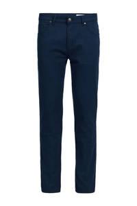 WE Fashion Blue Ridge slim fit broek royal blue melange, Royal Blue Melange