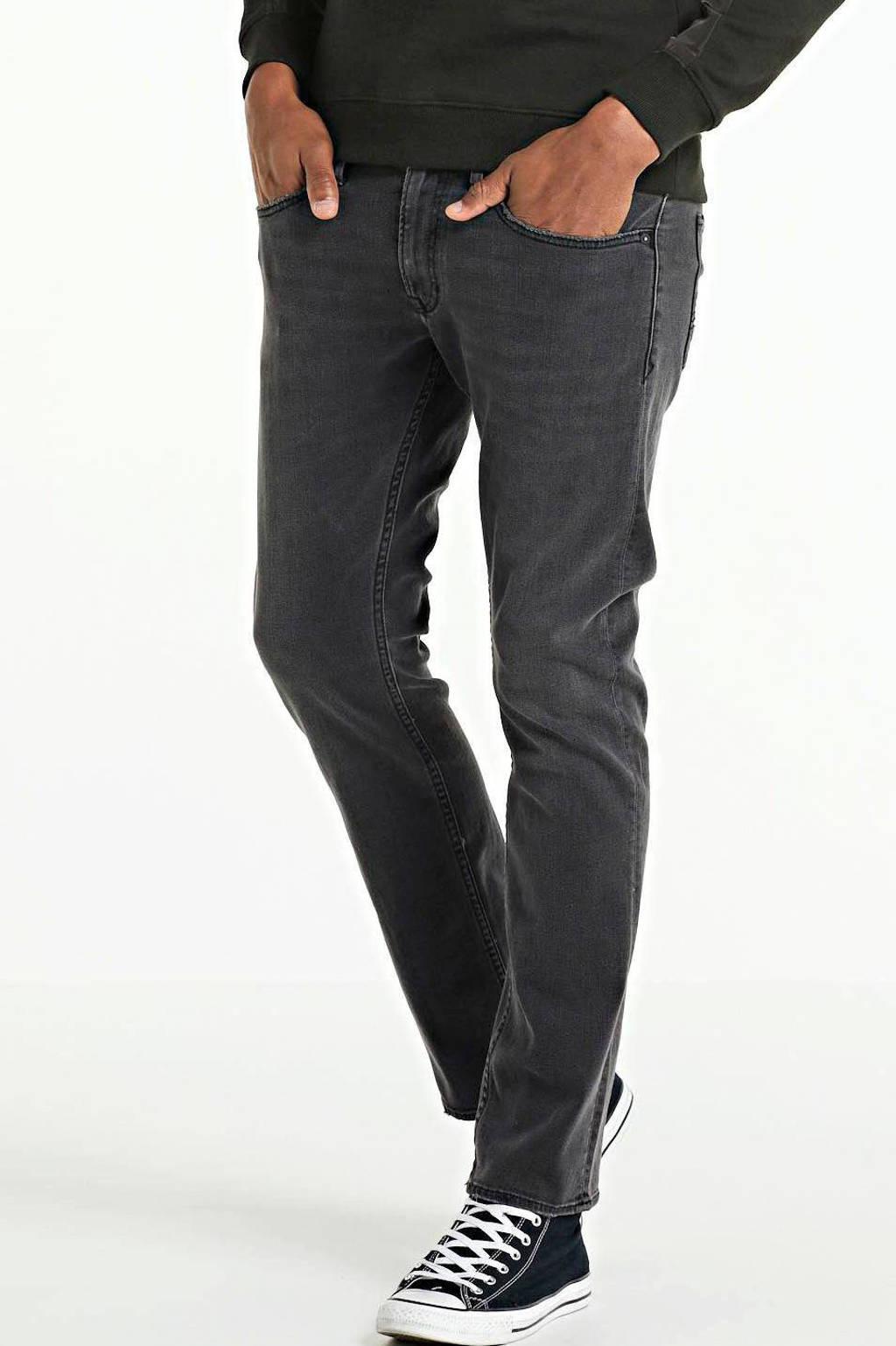 Kings of Indigo regular fit jeans Ryan zwart, Zwart