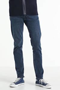 Kings of Indigo slim fit jeans Charles donkerblauw, Donkerblauw