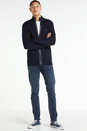 slim fit jeans Charles donkerblauw