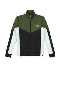 NIK&NIK vest Mayron groen/zwart/wit, Groen/zwart/wit