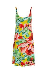Smashed Lemon jurk met all over print geel/multi, Geel/multi