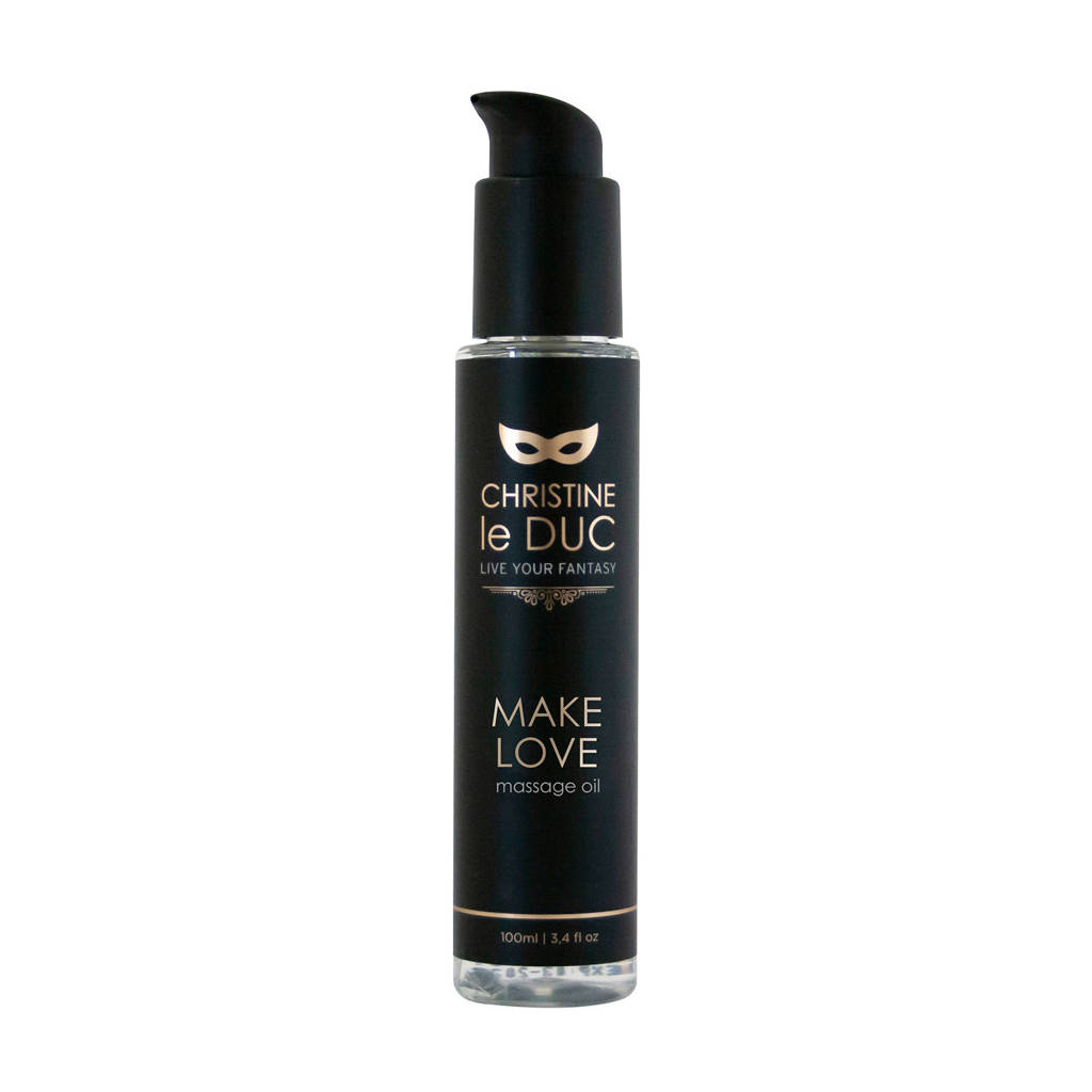 Christine le Duc Luxury Massage Oil Make Love - 100 ml