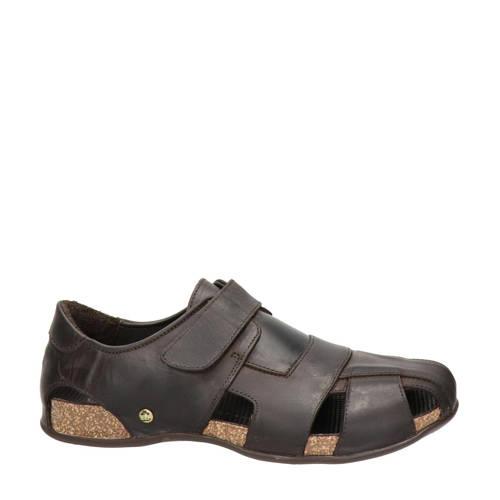Panama Jack Fletcher Basics nubuck sandalen bruin