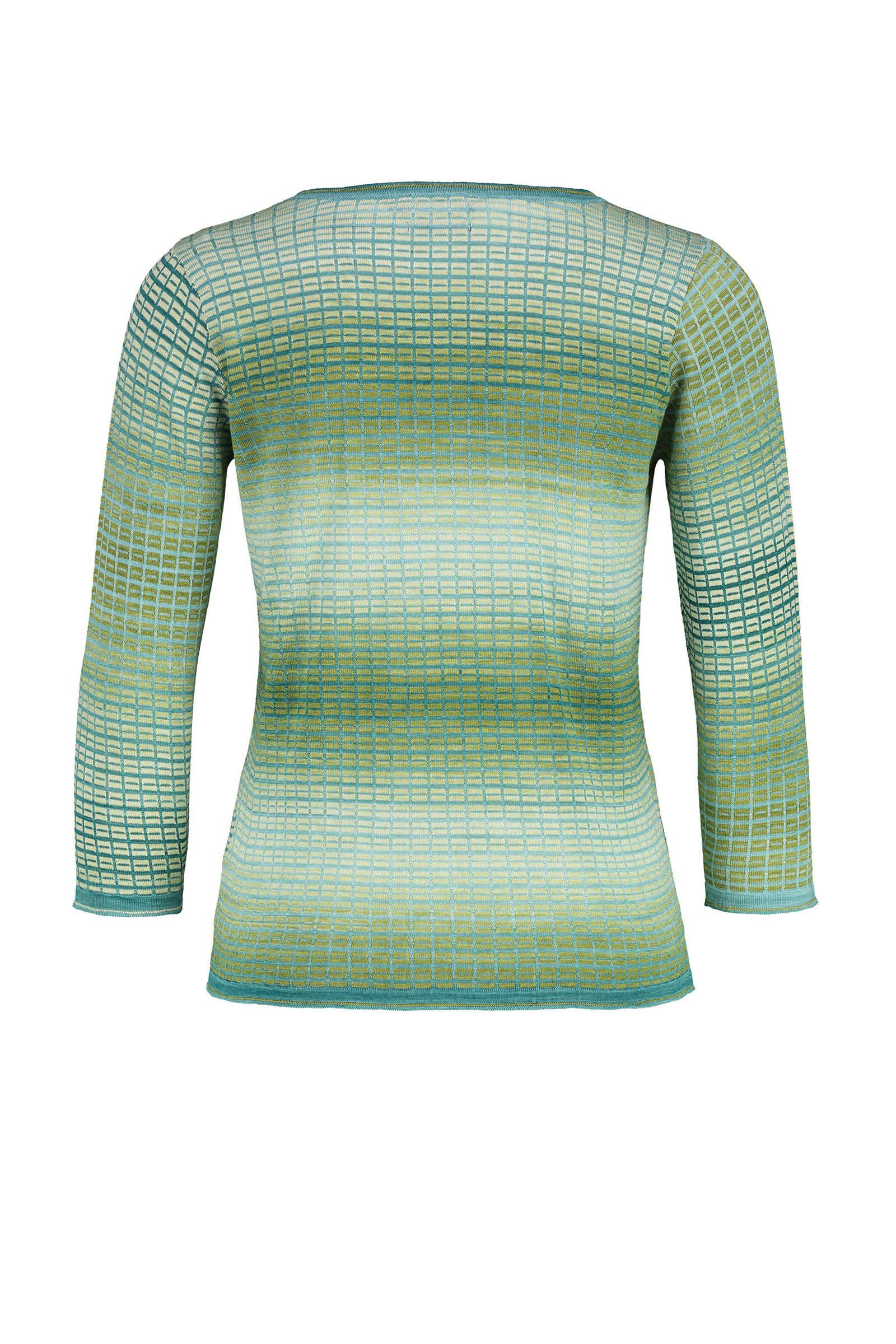 Claudia Sträter trui met all over print groen   wehkamp