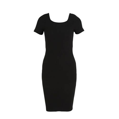 ONLY jersey jurk met biologisch katoen zwart