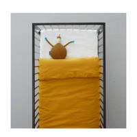 wehkamp home ledikant dekbedovertrek, Donker okergeel, Baby (100 cm breed)