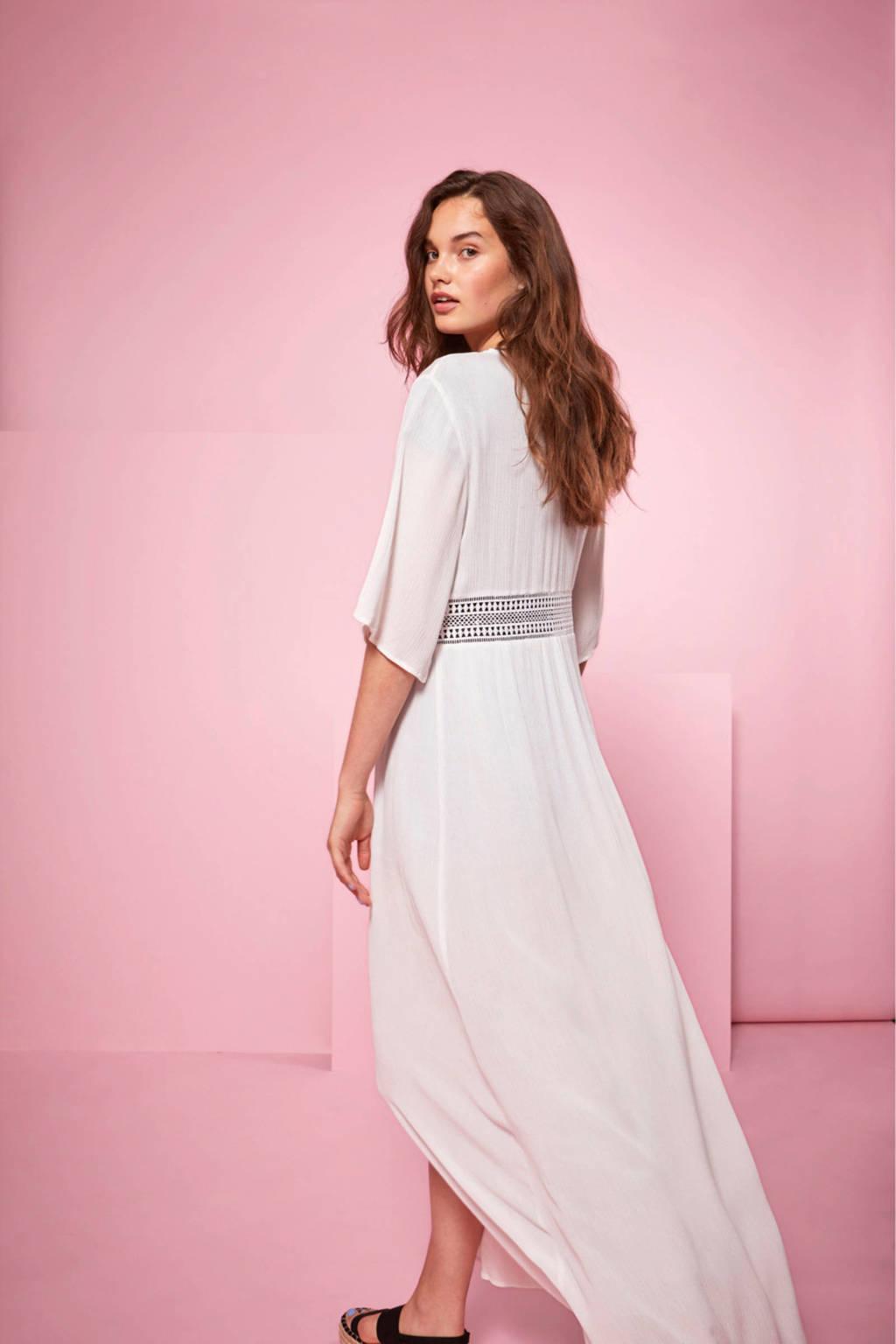 VILA maxi jurk wit, Wit