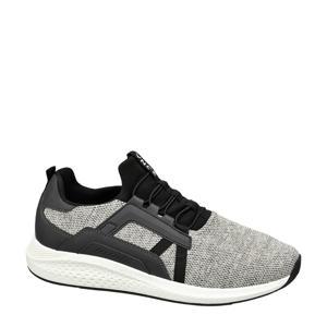 sneakers grijs/zwart