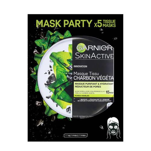 Garnier SkinActive - Pure Charcoal Black Sheet Mas