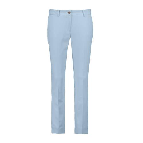 Expresso slim fit broek lichtblauw