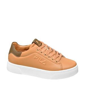 plateau sneakers bruin