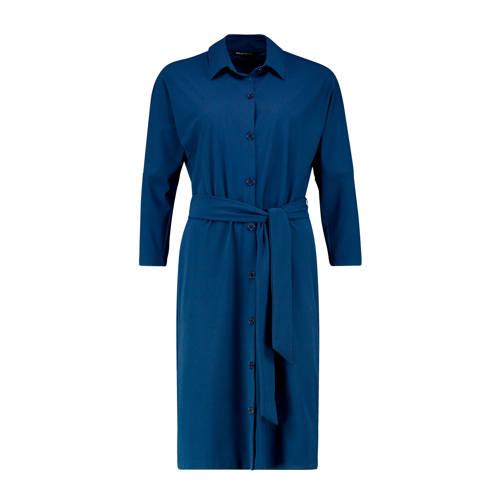 Expresso blousejurk courtney met ceintuur blauw