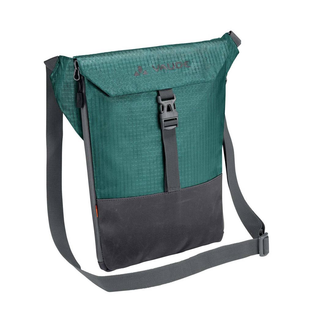 Vaude  CityAcc schoudertas grijs/groen, nickel-green