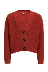 WE Fashion vest rood, Rood
