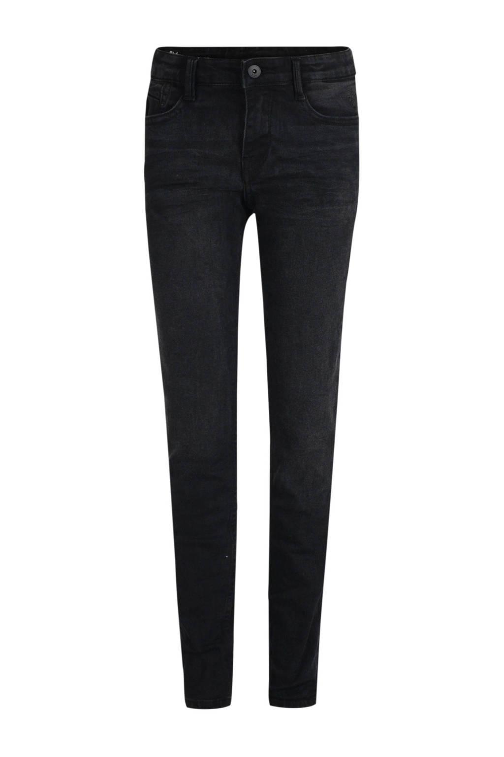 Jill & Mitch by Shoeby slim fit jeans James zwart, Zwart