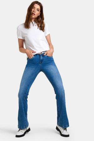 flared jeans medium denim stonewashed