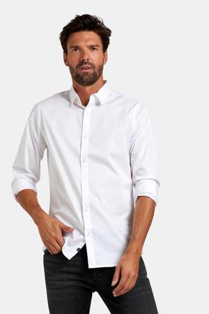 regular fit overhemd Kaiden wit