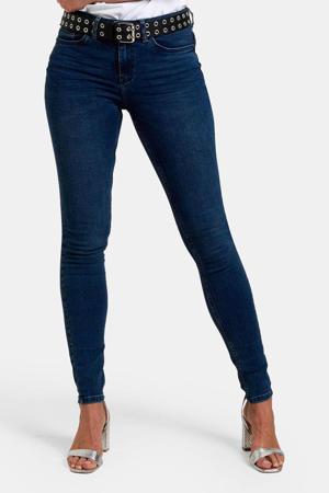 high waist skinny jeans Liza Edith dark denim L32