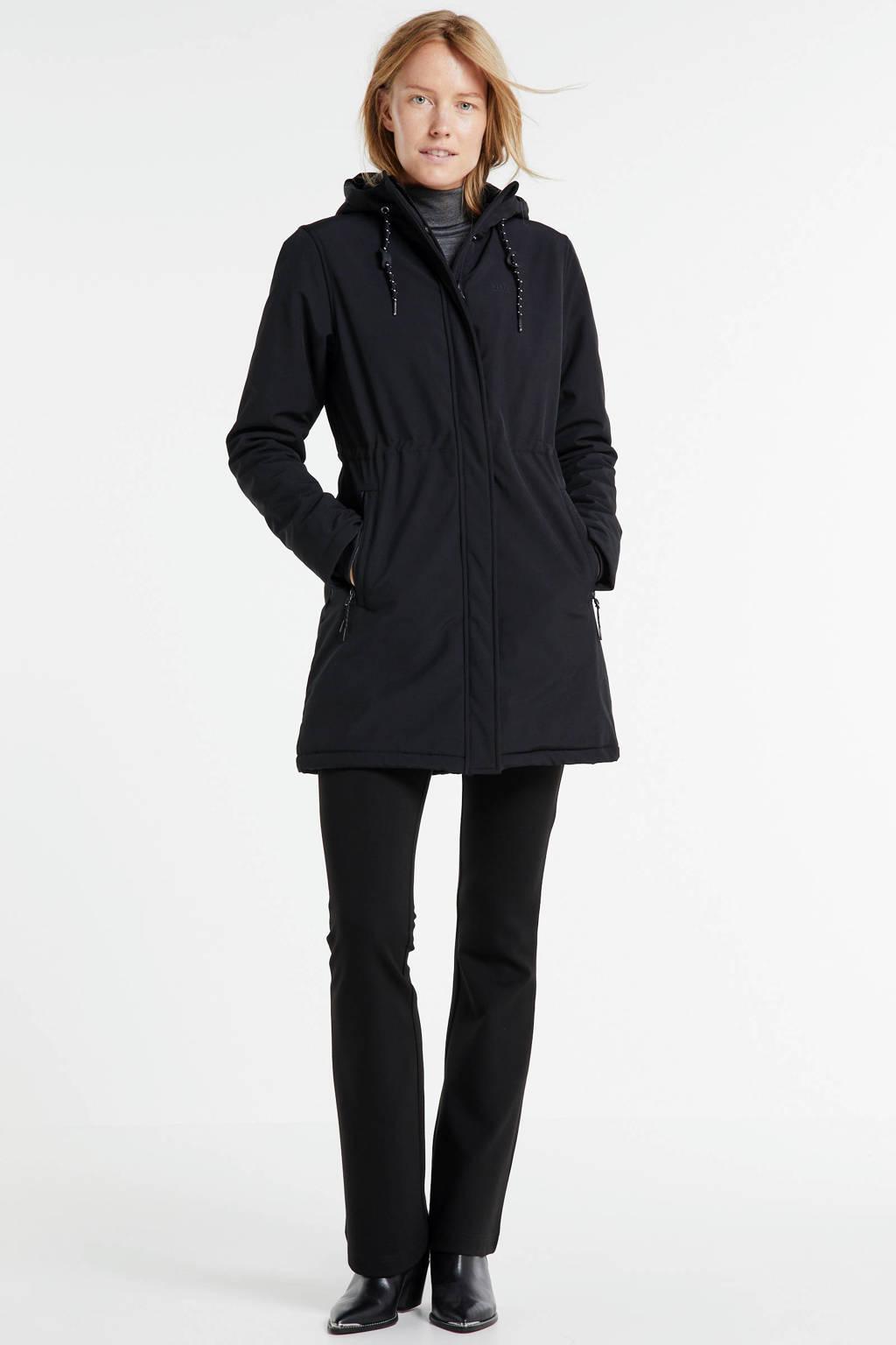 Shoeby Eksept flared broek Harby zwart, Zwart