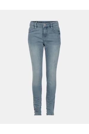 skinny jeans Brody met slijtage grijs