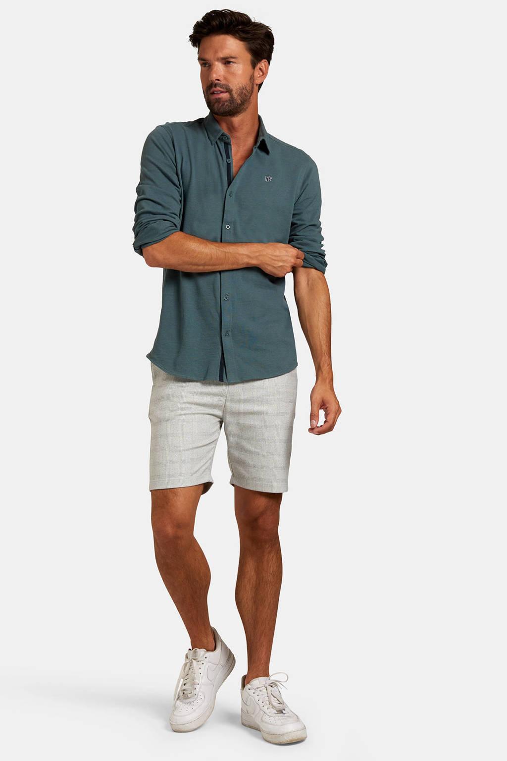Refill by Shoeby regular fit overhemd groen, Groen
