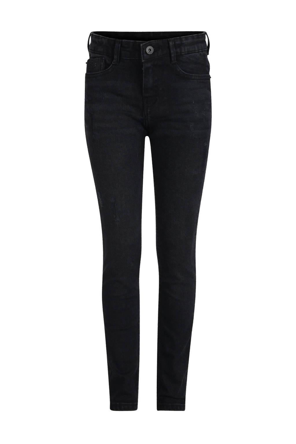 Jill & Mitch by Shoeby slim fit jeans black denim, Black denim