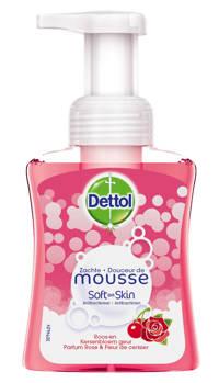 Dettol handzeep Zachte Mousse Roos Kersenbloesem - 250 ml
