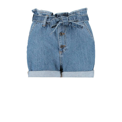 CoolCat Junior high waist jeans short Nadia medium