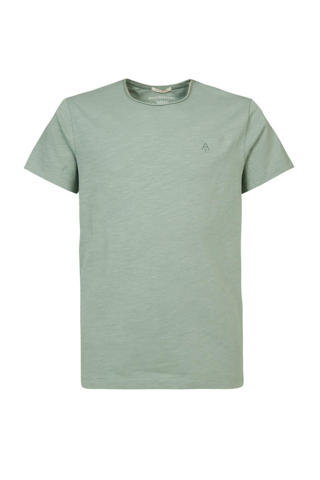 America Today Junior T-shirt Took van biologisch katoen groen, Groen