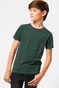 America Today Junior T-shirt Took van biologisch katoen donkergroen, Donkergroen