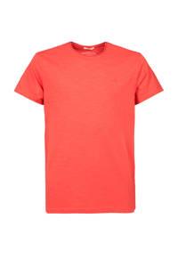America Today Junior T-shirt Took van biologisch katoen koraalrood, Koraalrood