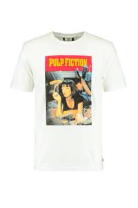 America Today T-shirt met printopdruk wit, Wit