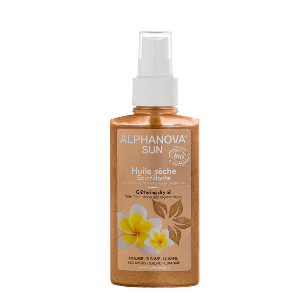Alphanova SUN BIO bodyolie Dry Oil Spray- 125 ml