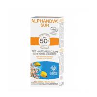 Alphanova SUN BIO zonnebrand SPF 50 Cream sensitive skin - 50 g
