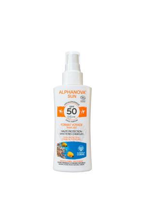 BIO zonnebrand Travel SPF 50 Spray - 90 g