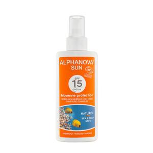 BIO zonnebrand SPF 15 Spray- 125 g