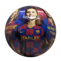 FC Barcelona   FC Barcelona voetbal groot shiny Martens maat 5, Blauw/rood