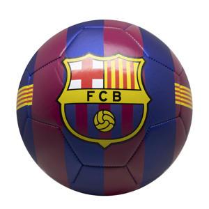 FC Barcelona voetbal groot blauw/rood stripes maat 5