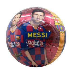 FC Barcelona voetbal groot shiny Messi maat 5
