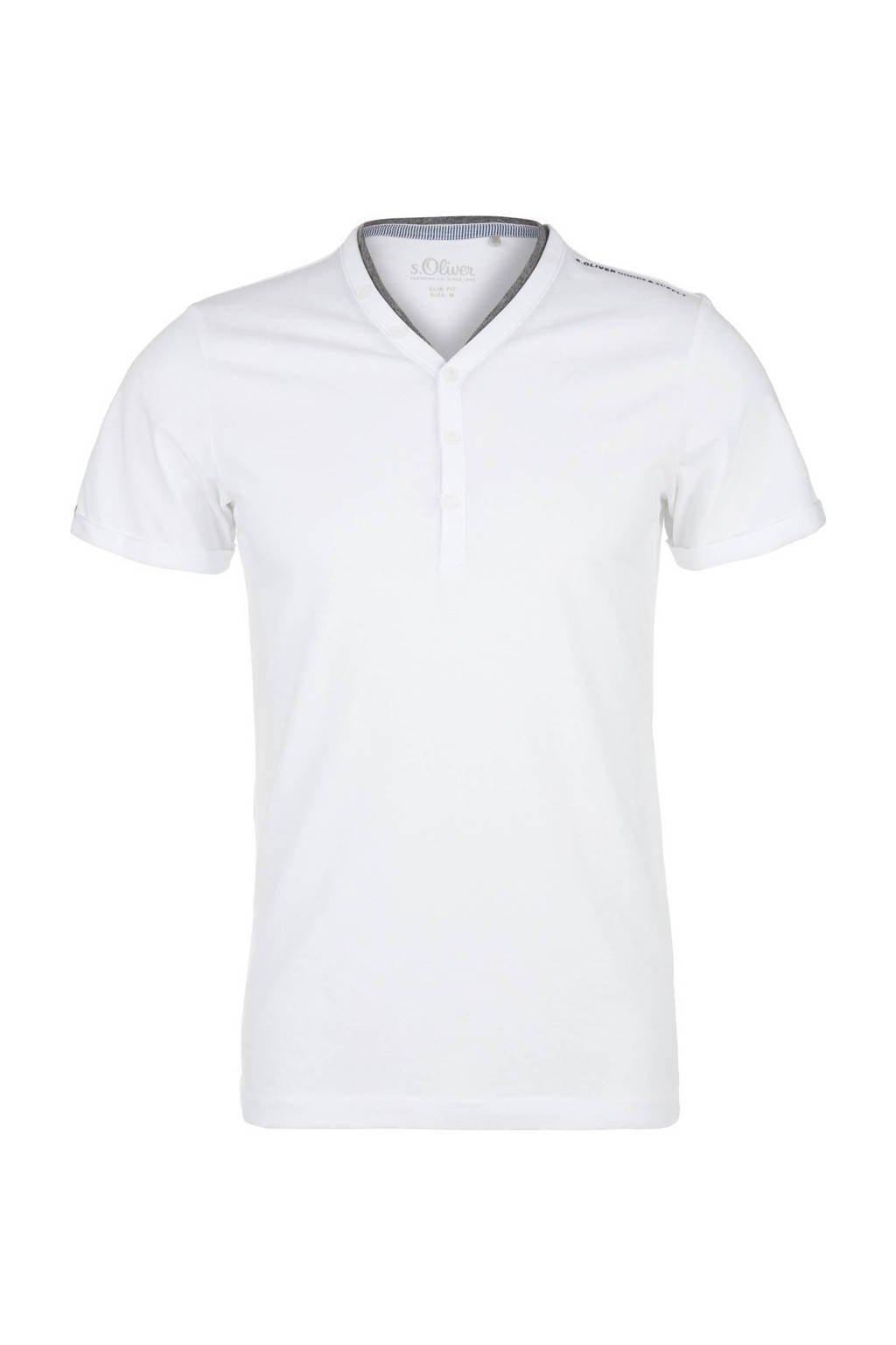 s.Oliver T-shirt wit, Wit