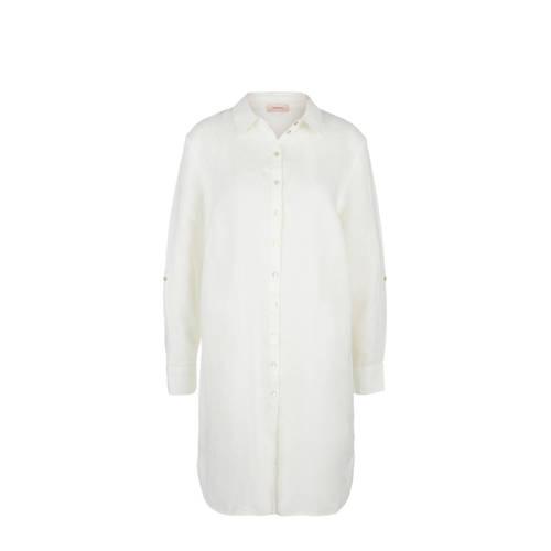 TRIANGLE linnen blouse ecru
